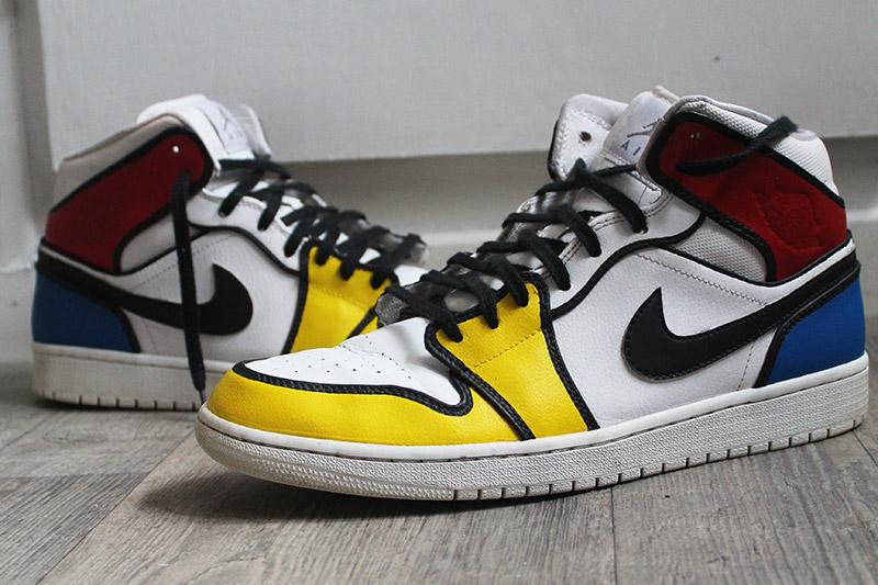 Nike Air Jordan 1 Piet Mondrian