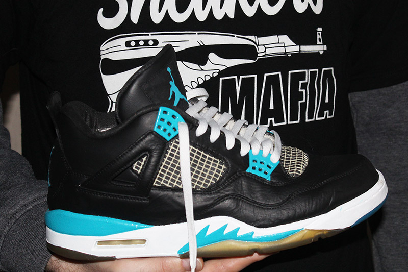 Nike Air Jordan 45 – Black/Turquoise