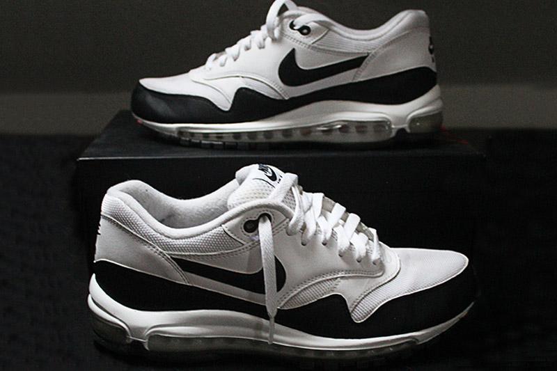 Nike Air Max 1-97 Black-White