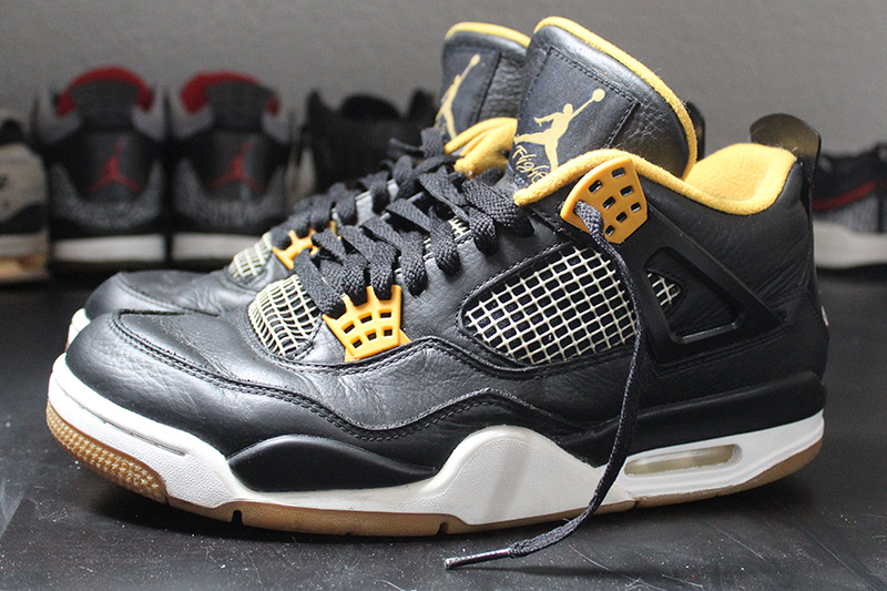 Nike Air Jordan 4 – Dunk From Above – Black